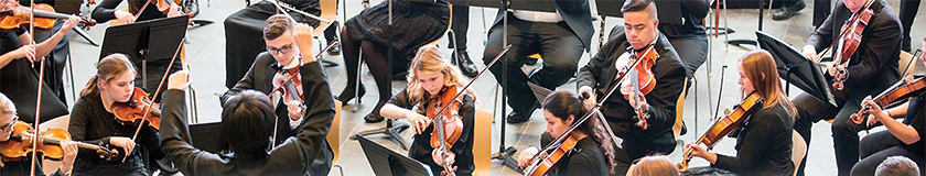 UVU Symphony performs at an event